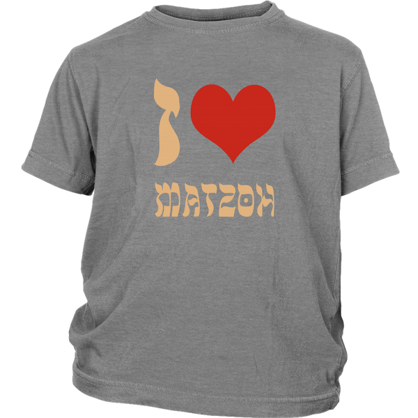 grey matzoh passover youth tshirt