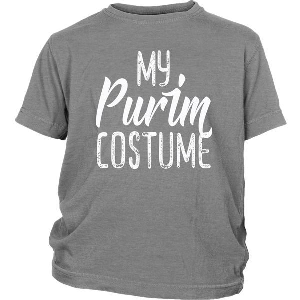 my purim costume grey