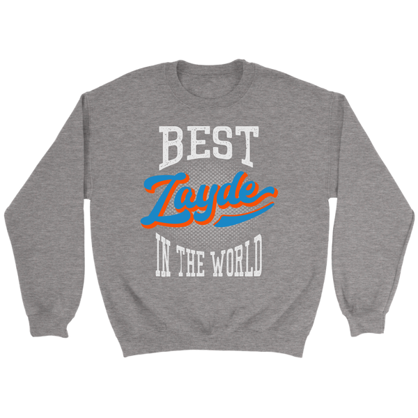 best zayde gift sweatshirt charcoal grey
