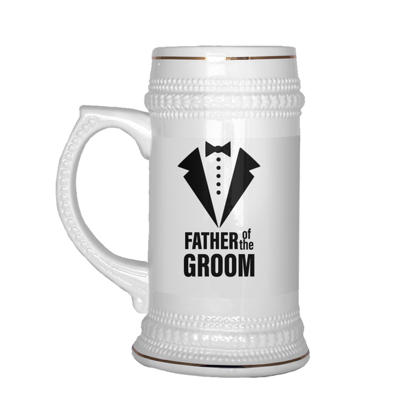 father of the groom jewish wedding stein