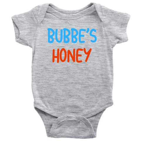 bubbes honey baby onesie