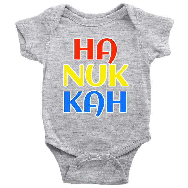 chanukah colorful bodysuit