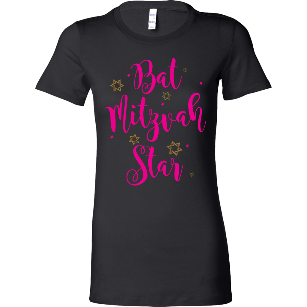 BAT MITZVAH STAR , Bat Mitzvah T-Shirt