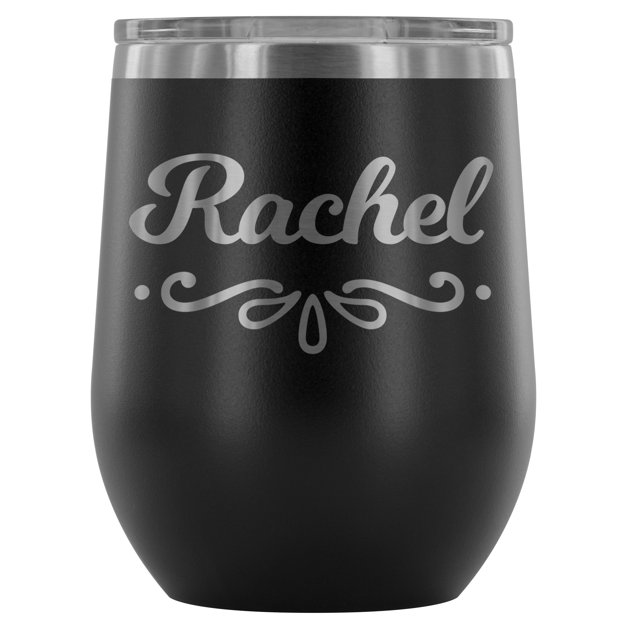 wine tumbler with name