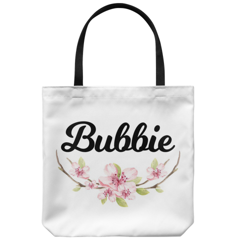 Bubbie Tote Bag - Jewish grandmother Gift