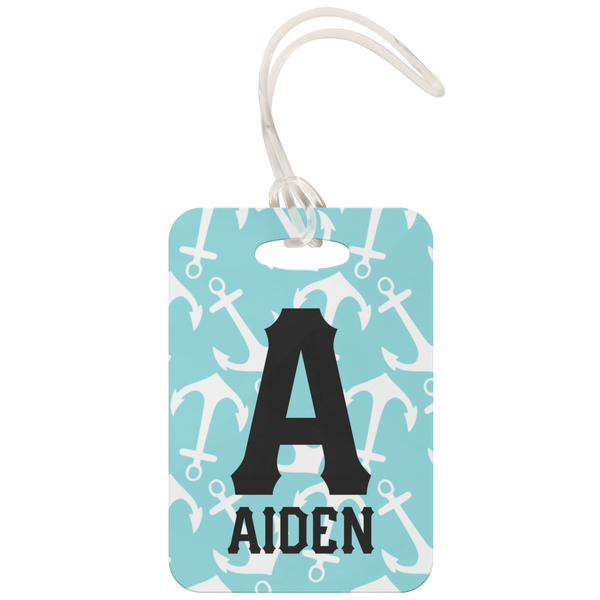 Personalized Nautical Luggage Tag
