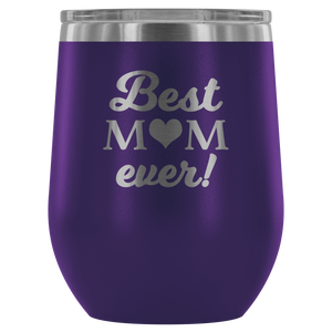 best mom ever tumbler purple