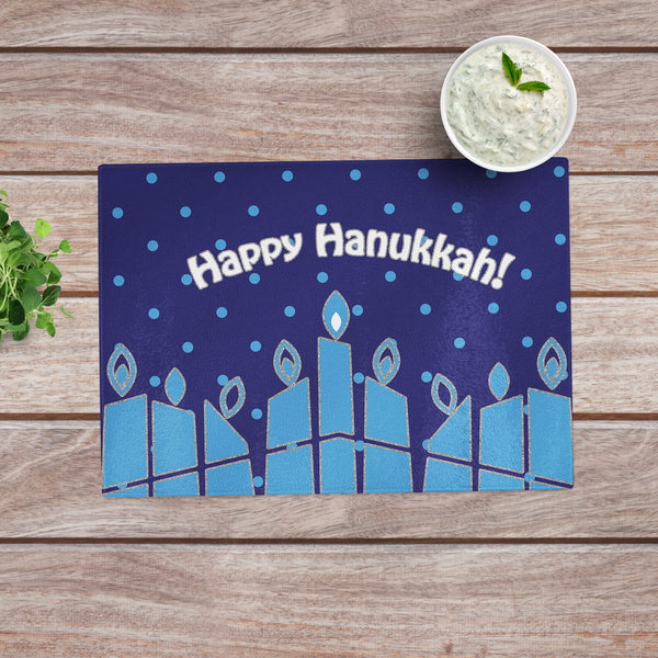 hanukkah cutting board
