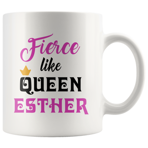 queen esther purim gift mug