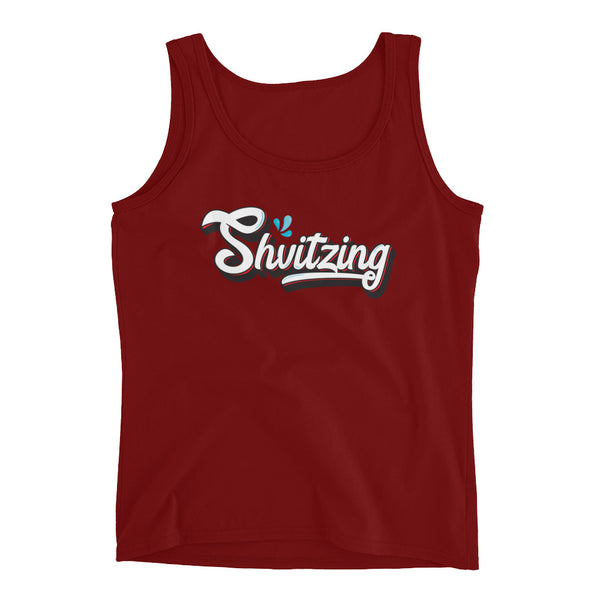Shvitzing - Fitted Tank Top for Ladies and Teens