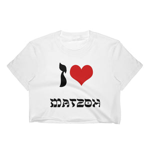 matzoh crop top passover