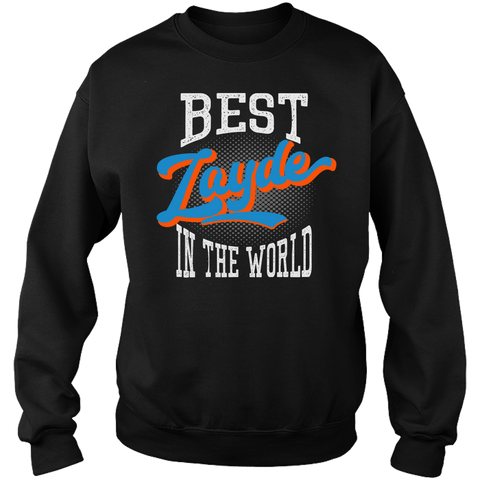 best zayde in the world sweatshirt
