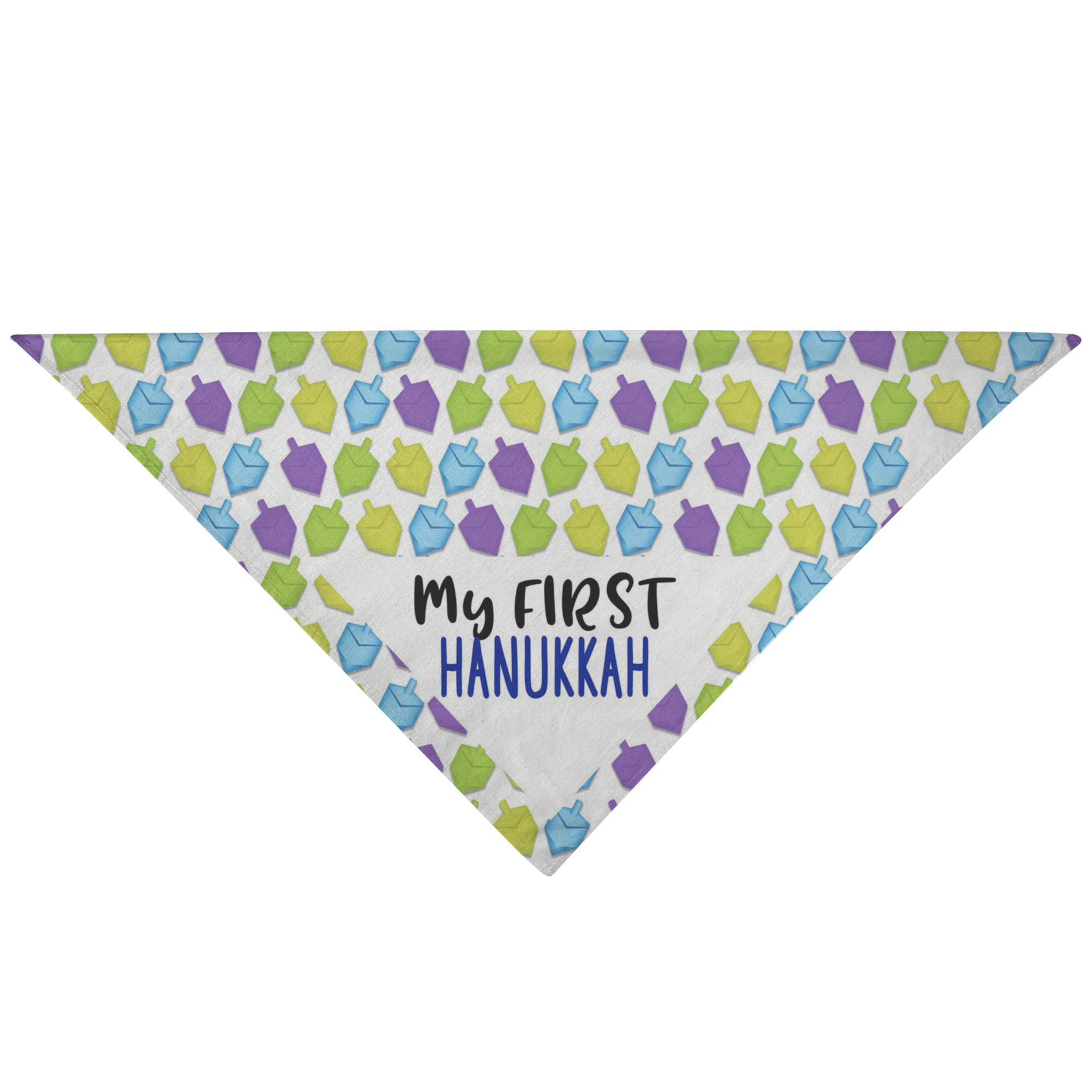 My First Hanukkah Pet Bandana