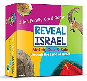 Reveal Israel Card Game