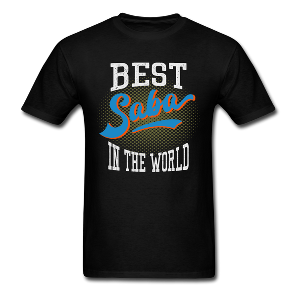 Best Saba in The World Jewish Grandfather T-shirt - black