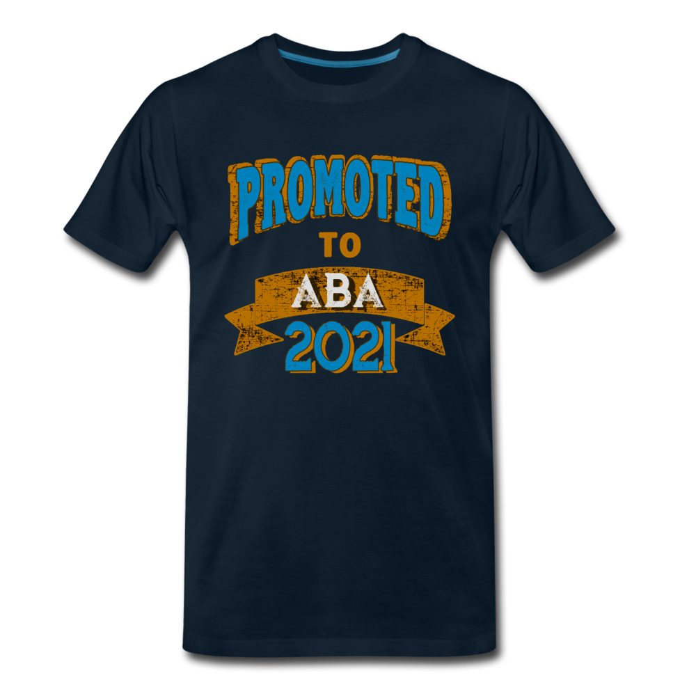 Promoted To Aba 2021 - deep navy
