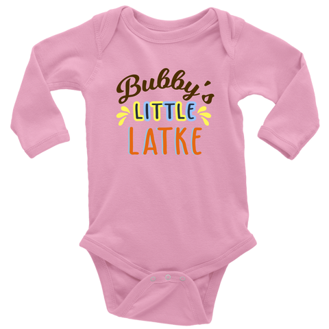 bubbys little latke long sleeve pink