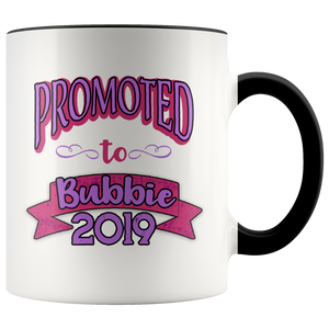 promoted to bubbie 2019 gift mug