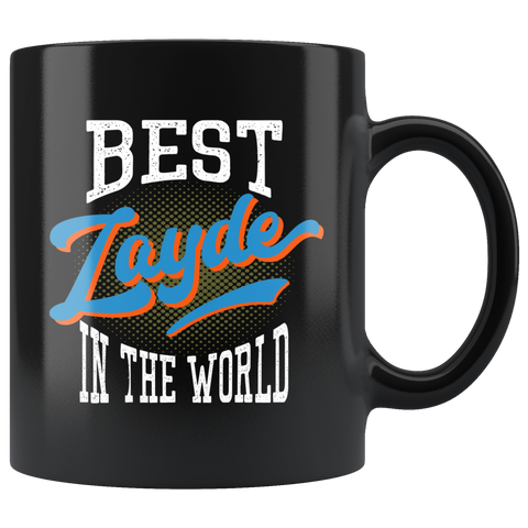 best zayde in the world gift mug