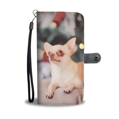 PERSONALIZED Chihuahua Wallet Phone Case