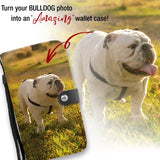 Personalized Bulldog Wallet Phone Case