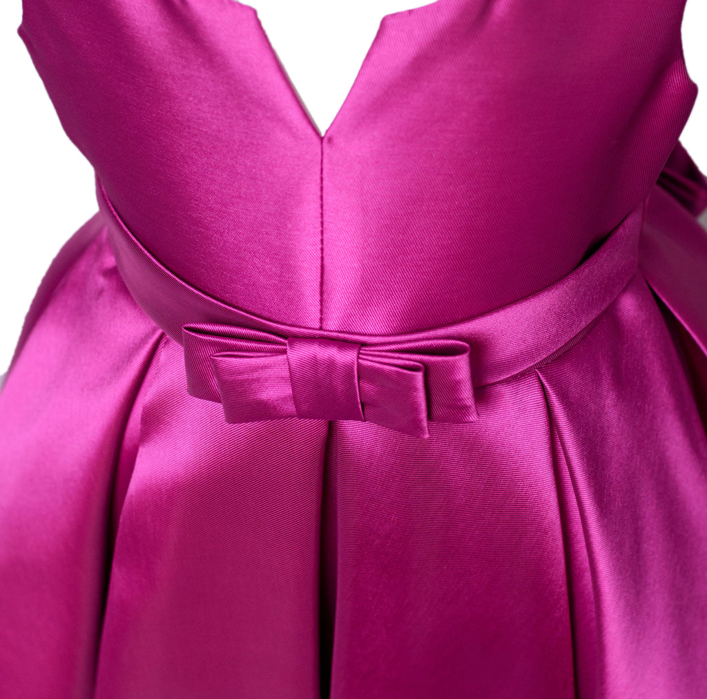 The Debutante Dress - Fuschia