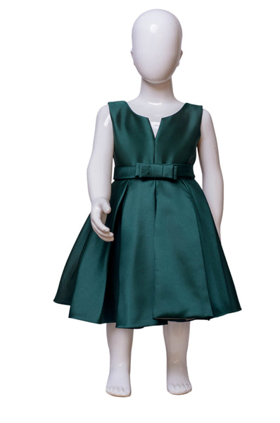 The Debutante Dress - Emerald Green