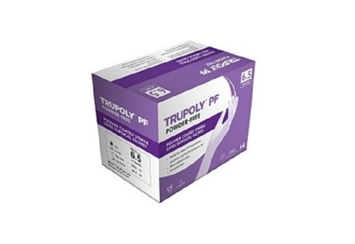 Trupoly Powder Free Latex Surgical Glove