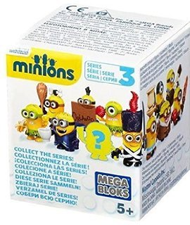 Mega Bloks - Minions Blind Box - Buildable Minions - Series 3