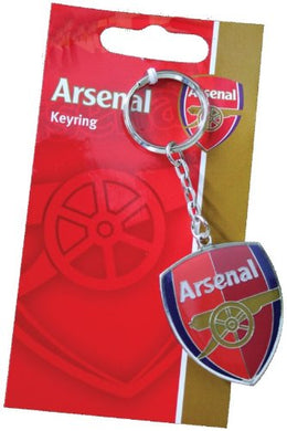 Official Arsenal FC Crest Keyring