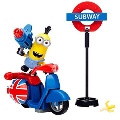 Minions Mega Bloks SCOOTER ESCAPE 38 pieces
