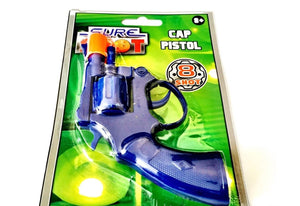 Sure Shot 8 Shot Ring Cap Toy Revolver Gun
