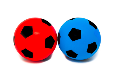 Pack of Two 20cm E-Deals Soft Foam Football