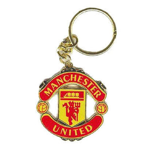 Official Manchester United Crest Shaped Keyring