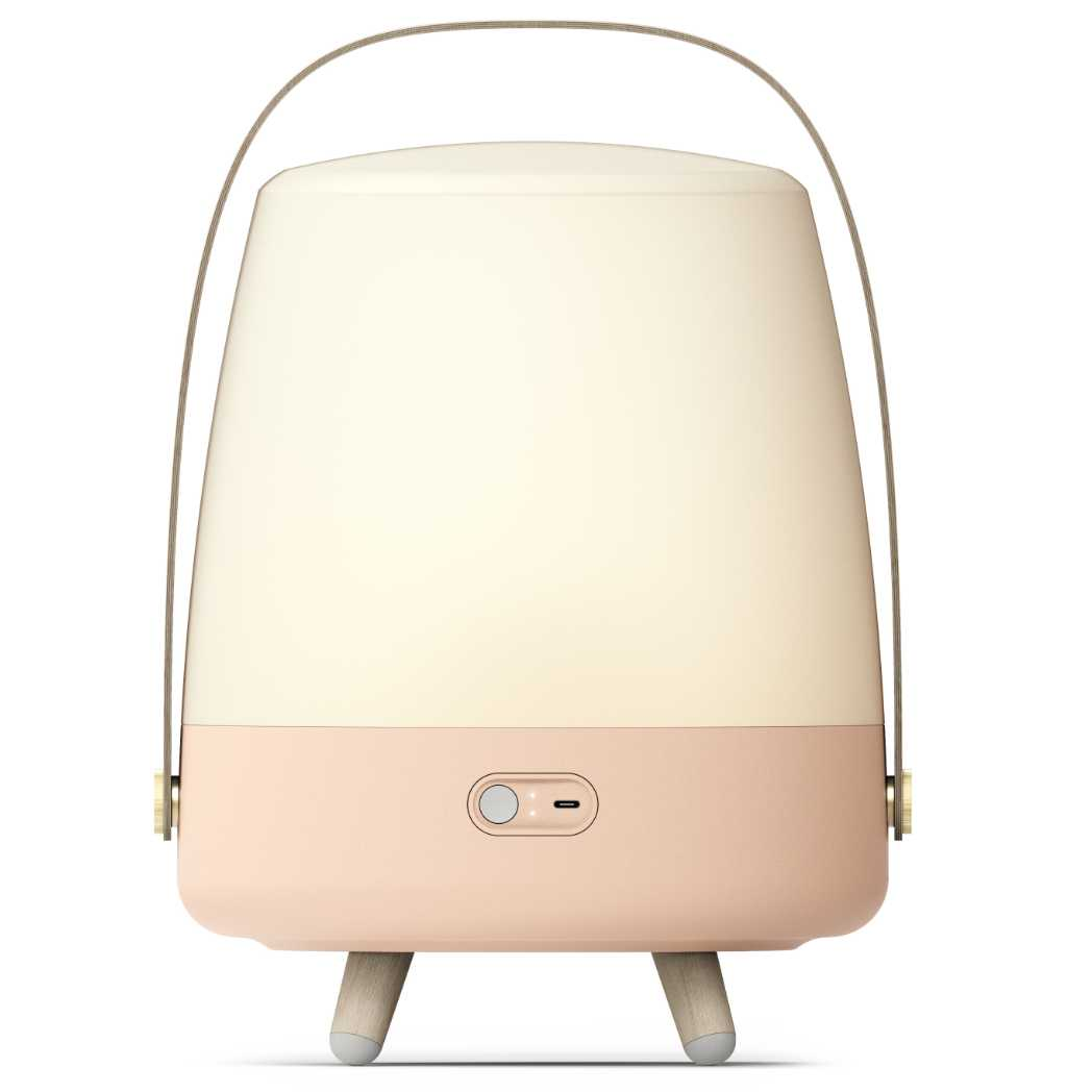 Lite-Up Play LED-lampe m/Bluetooth Højtaler Light Rose Bagside