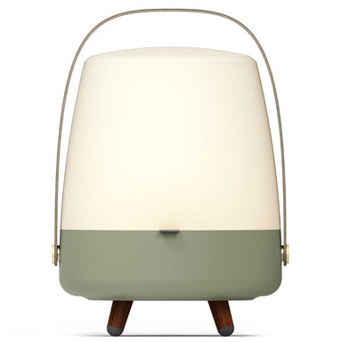 Lite-Up Play LED-lampe m/Bluetooth Højtaler Green Front