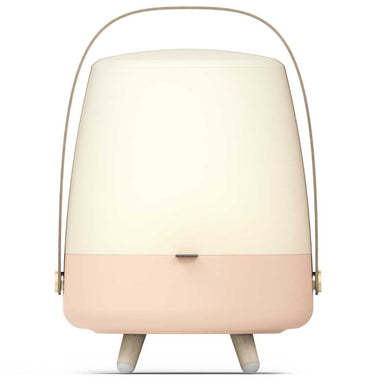 Lite-Up Play LED-lampe m/Bluetooth Højtaler Light Rose Front