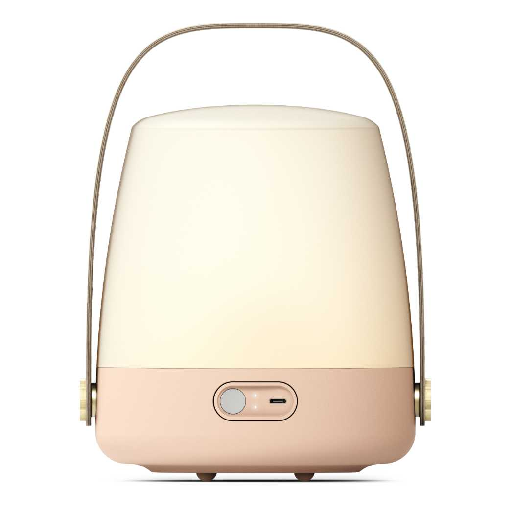 Lite-Up LED-lampe Light Rose Bagside