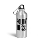 Rollin' In Bitcoin Water Bottle