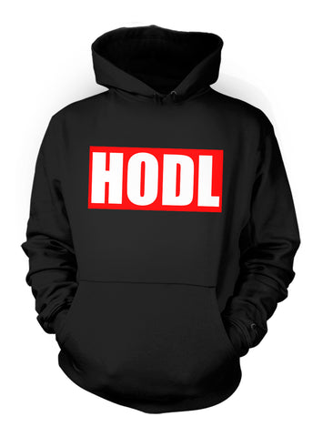 Hodl Bitcoin Cryptocurrency Hoodie