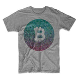 Bitcoin Logo Men's T-Shirt