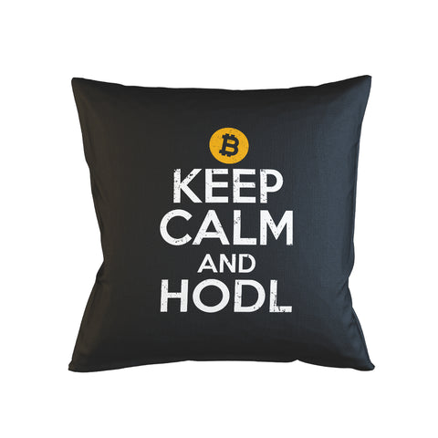 Keep Calm And Hodl Pillow Case