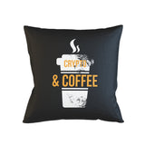 Crypto And Coffee Pillow Case
