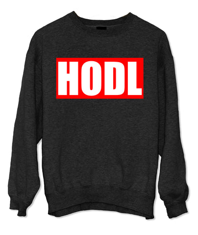 Hodl Bitcoin Cryptocurrency Sweatshirt
