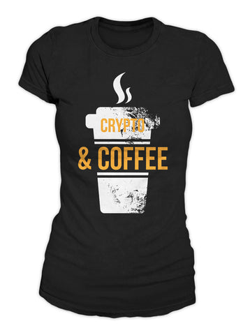 Crypto And Coffee Women's T-Shirt