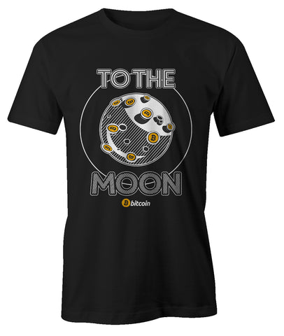To The Moon Bitcoin Men's T-Shirt