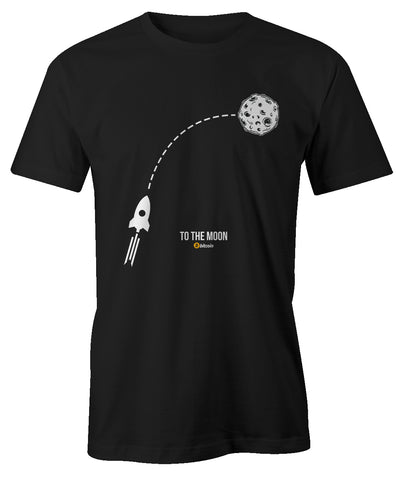 To The Moon Rocket Men's T-Shirt