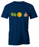 Bitcoin Thumbs Up Men's T-Shirt