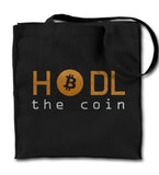 Hodl The Coin Tote Bag