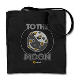 To The Moon Bitcoin Tote Bag